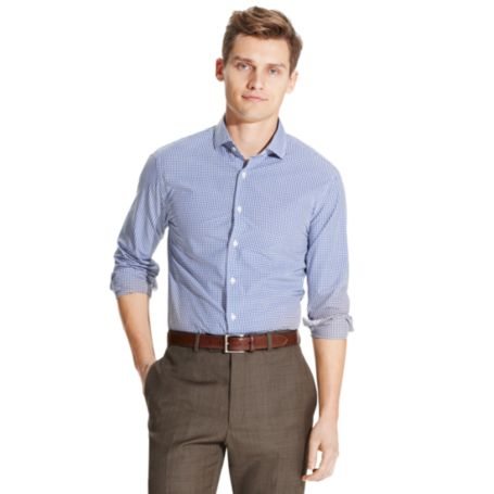 Image for NEW YORK FIT GINGHAM SHIRT from Tommy Hilfiger USA