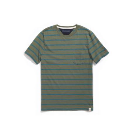 Image for STRIPE POCKET TEE from Tommy Hilfiger USA