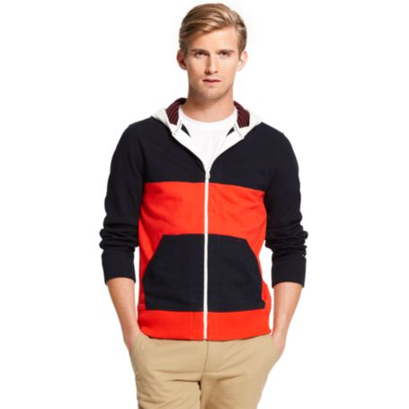 Image for COLORBLOCK ZIP HOODIE from Tommy Hilfiger USA