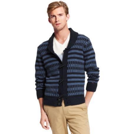 Image for STRIPE FISHERMAN SWEATER from Tommy Hilfiger USA