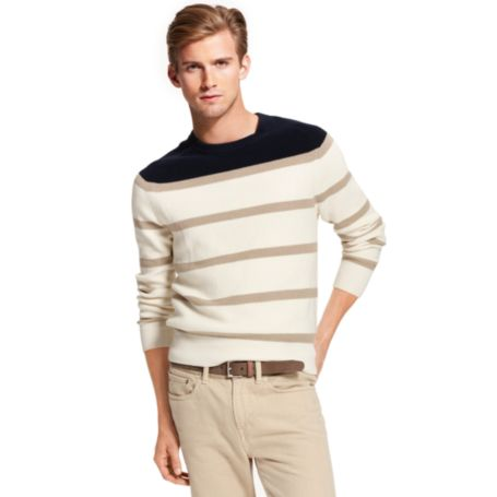 Image for FASHION STRIPE SWEATER from Tommy Hilfiger USA
