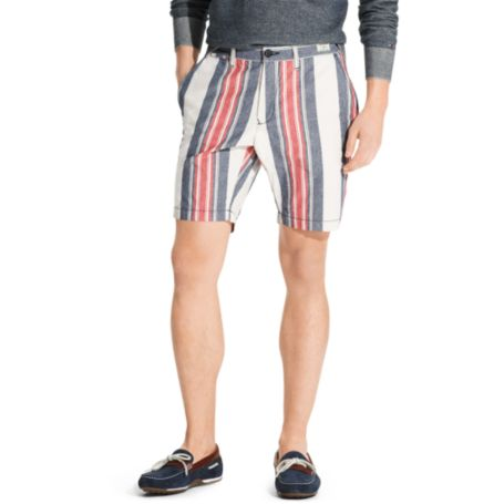 Image for IRREGULAR VERTICAL STRIPE SHORT from Tommy Hilfiger USA