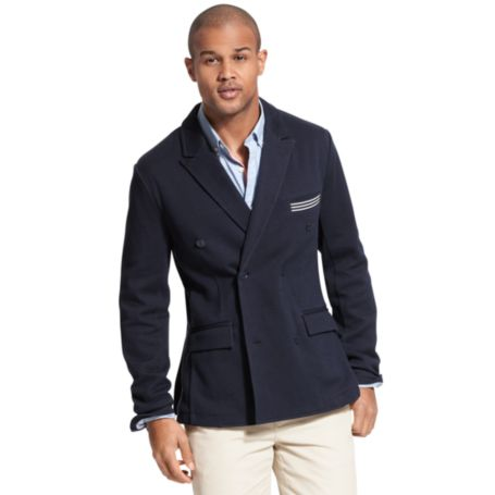 Image for 2 BUTTON BLAZER WITH STRIPE DETAILS from Tommy Hilfiger USA