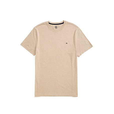 Tommy Hilfiger Classic Crew Neck Tee - Amazon Green Heather Outlet Exclusive Product100% CottonMicfroflag On ChestMachine WashableImportedImported