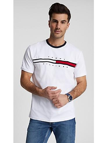 타미 힐피거 티셔츠 Tommy Hilfiger Essential Flag Logo T-Shirt