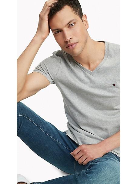 타미 힐피거 반팔티 Tommy Hilfiger Essential V-Neck T-Shirt