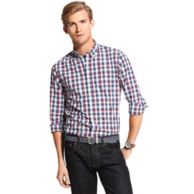 NEW YORK FIT CHECK SHIRT $49.99
