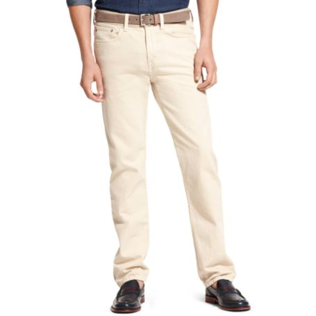 Image for SLIM STRAIGHT TINTED NATURAL DENIM from Tommy Hilfiger USA