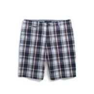 CUSTOM FIT PLAID SHORT $39.99