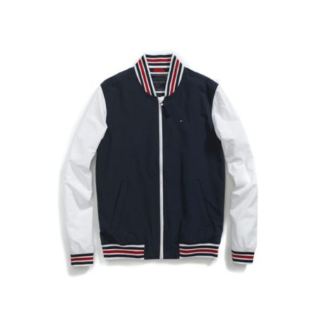 Image for NYLON VARSITY JACKET from Tommy Hilfiger USA