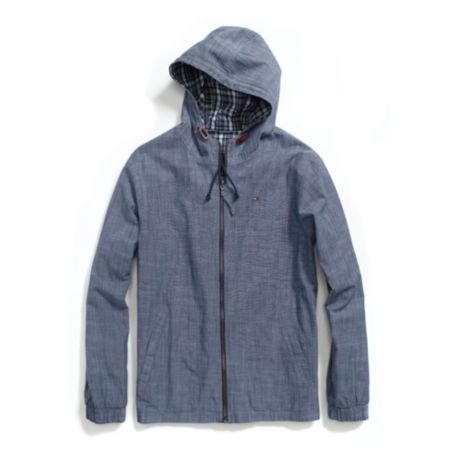 Image for REVERSIBLE CHAMBRAY JACKET from Tommy Hilfiger USA