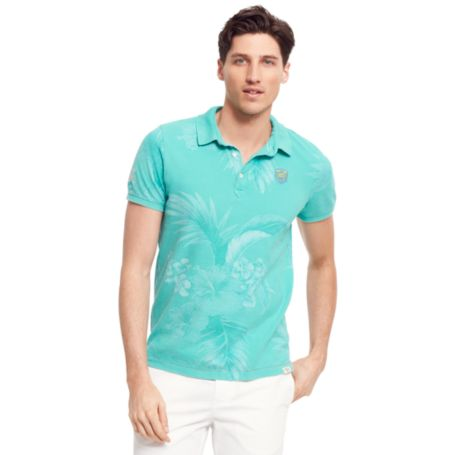 Image for HAWAIIAN PRINT POLO from Tommy Hilfiger USA