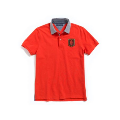 Image for CRESTED POLO from Tommy Hilfiger USA