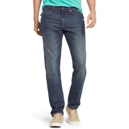 Image for SLIM STRAIGHT FLECKED DENIM from Tommy Hilfiger USA