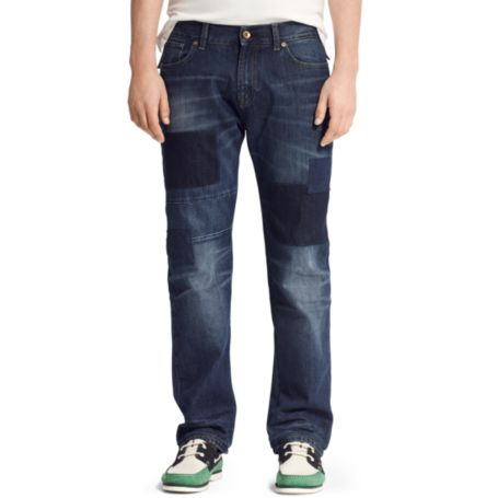Image for SLIM STRAIGHT PATCHWORK DENIM from Tommy Hilfiger USA