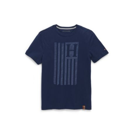 Image for TONAL FLAG TEE from Tommy Hilfiger USA