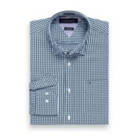 CUSTOM FIT GINGHAM SHIRT $59.50