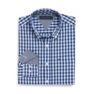 CUSTOM FIT PLAID SHIRT $34.99