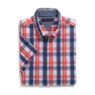CUSTOM FIT PLAID SHIRT $44.50