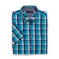 CLASSIC FIT PLAID SHIRT $44.50