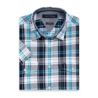 CUSTOM FIT SHORT SLEEVE PLAID SHIRT $49.50