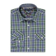 CUSTOM FIT PLAID SHIRT $54.50