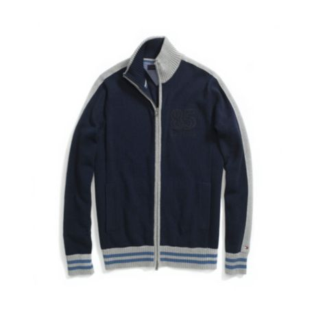 Image for FULL ZIP 85 LOGO SWEATER from Tommy Hilfiger USA