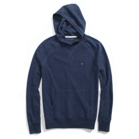 Image for HOODED PULLOVER SWEATER from Tommy Hilfiger USA