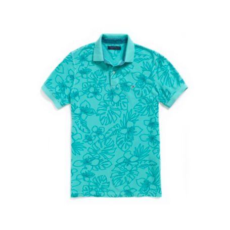 Image for HIBISCUS PRINT POLO from Tommy Hilfiger USA