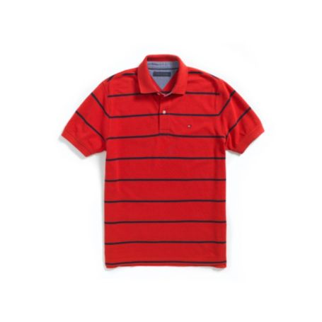 Image for REGULAR FIT PIQUE STRIPE POLO from Tommy Hilfiger USA