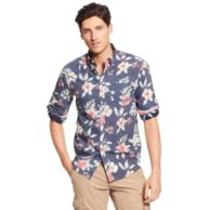 REGULAR FIT FLOWER PRINTED SHIRT