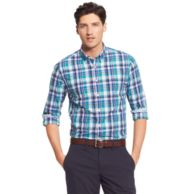 NEW YORK FIT PLAID SHIRT $79.00