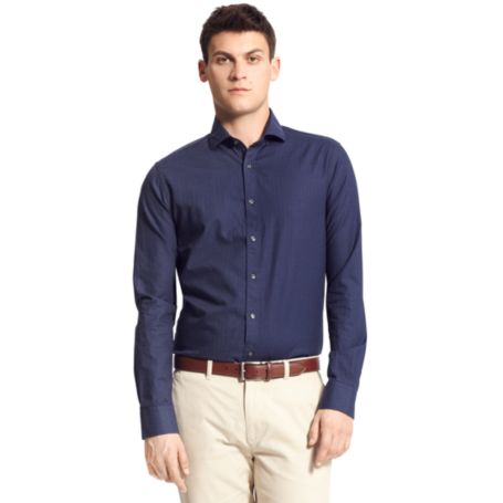 Image for NEW YORK FIT INDIGO SHIRT from Tommy Hilfiger USA