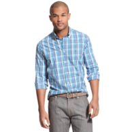NEW YORK FIT CHECK SHIRT $79.00