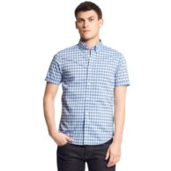 SHORT SLEEVE CHECK SHIRT $39.99