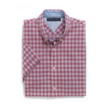 Image for SHORT SLEEVE CHECK SHIRT from Tommy Hilfiger USA