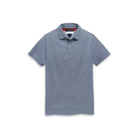 Image for SLIM FIT HEATHERED POLO from Tommy Hilfiger USA