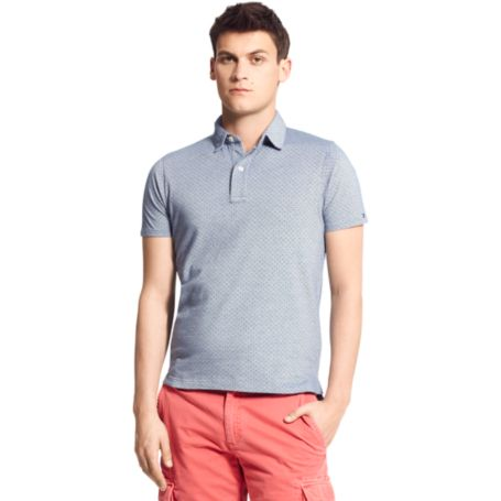 Image for SLIM FIT MICRODOT POLO from Tommy Hilfiger USA