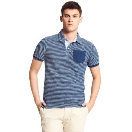 Image for STRIPE POCKET POLO from Tommy Hilfiger USA