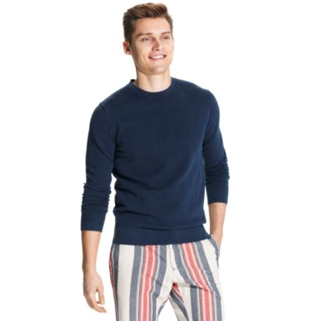 Image for GARMENT DYE C-NECK SWEATER from Tommy Hilfiger USA