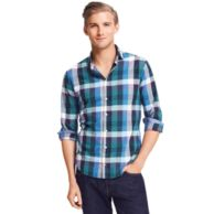 NEW YORK FIT BUFFALO PLAID SHIRT $89.00