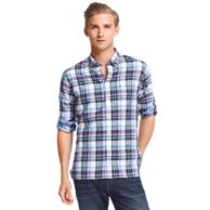 NEW YORK FIT PLAID SHIRT $69.00
