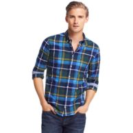 NEW YORK FIT CHECK SHIRT $69.00