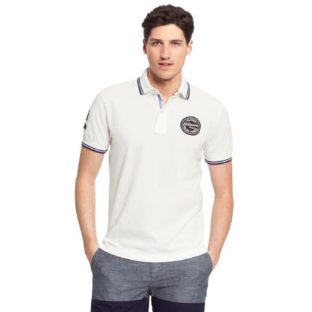 Image for SLIM FIT BADGE POLO from Tommy Hilfiger USA