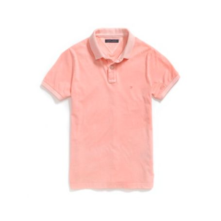Image for SLIM FIT GARMENT DYE JERSEY POLO from Tommy Hilfiger USA