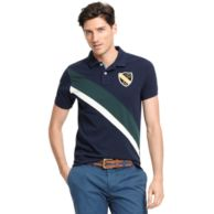 SLIM FIT CREST POLO $69.00
