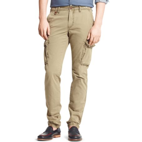 Image for HUDSON CARGO TWILL PANT from Tommy Hilfiger USA