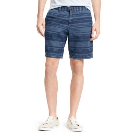 Image for DENIM PRINTED STRIPE SHORT from Tommy Hilfiger USA