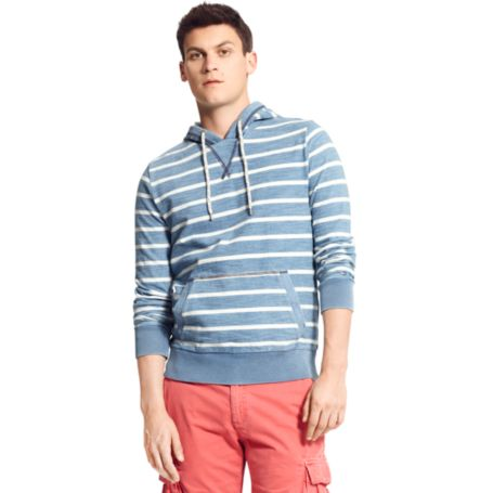 Image for STRIPE PULLOVER HOODIE from Tommy Hilfiger USA