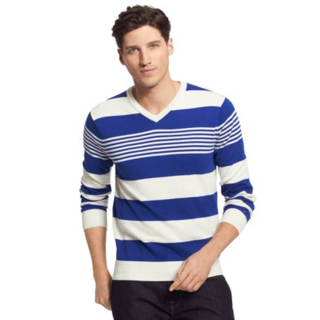 Image for RUGBY STRIPE SWEATER from Tommy Hilfiger USA